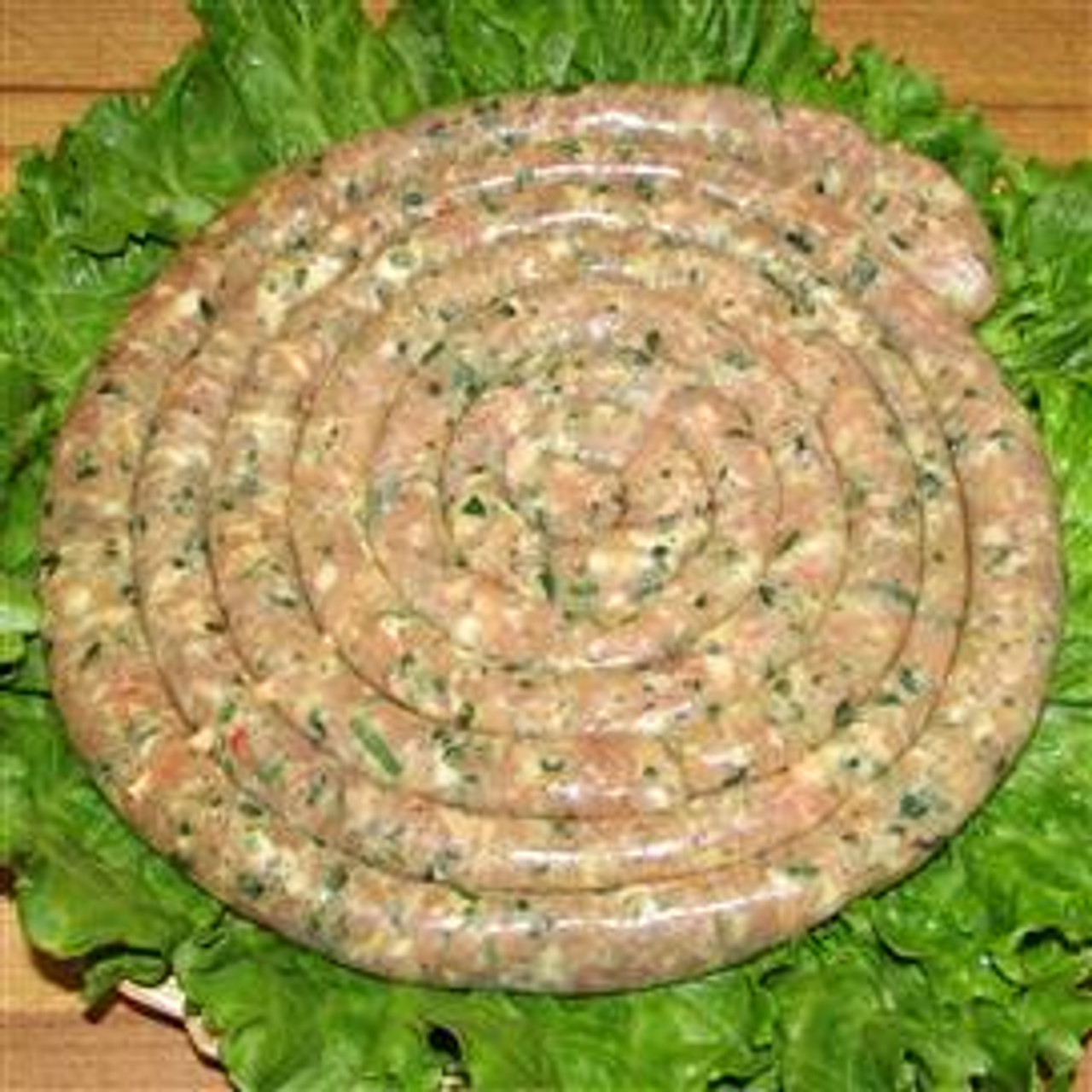 Chicken Sausage with Cheese and Parsley