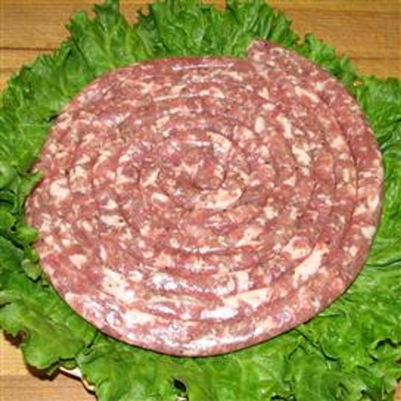 Thin Plain Sausage