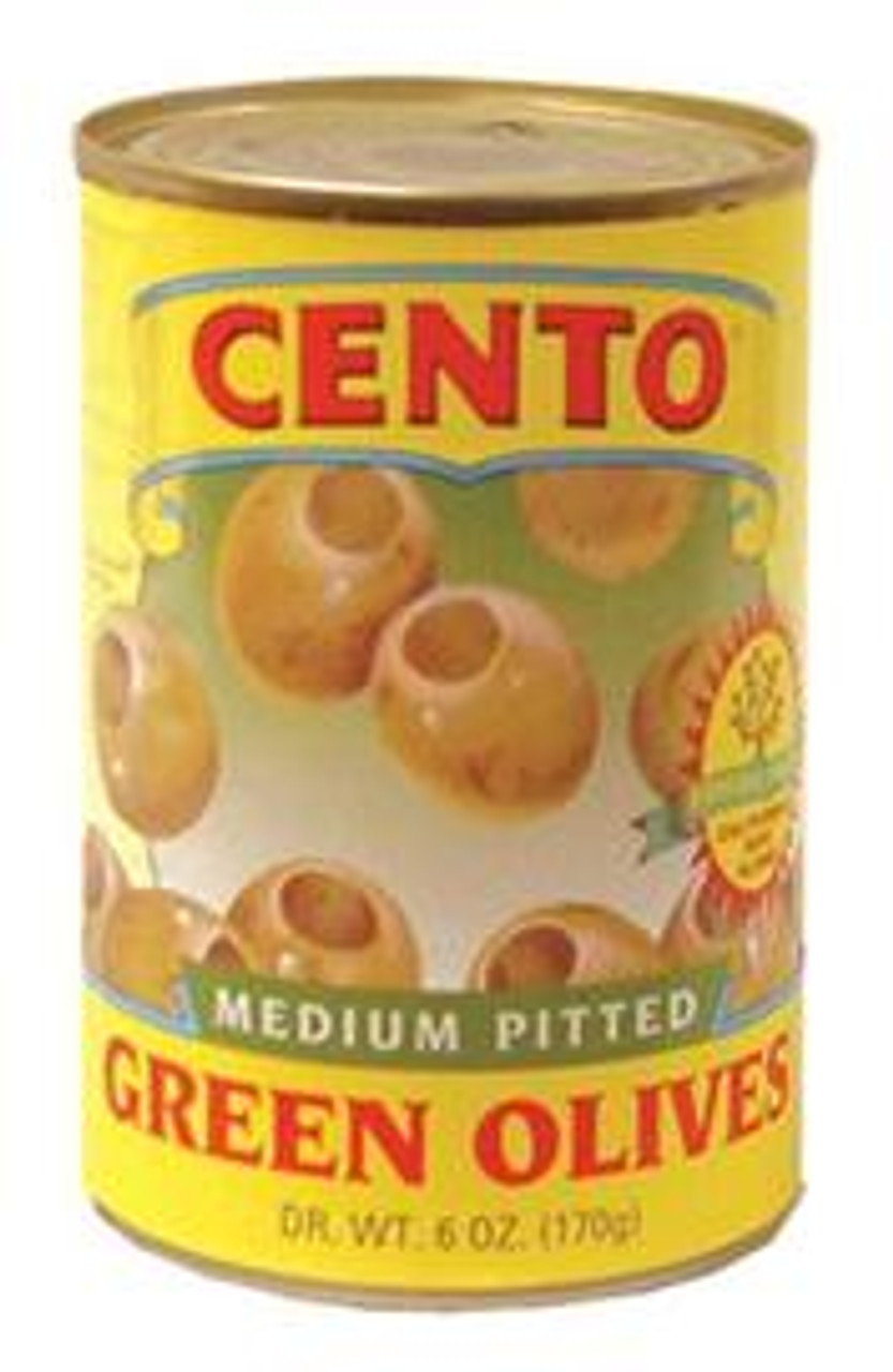 Medium Pitted Green Olives