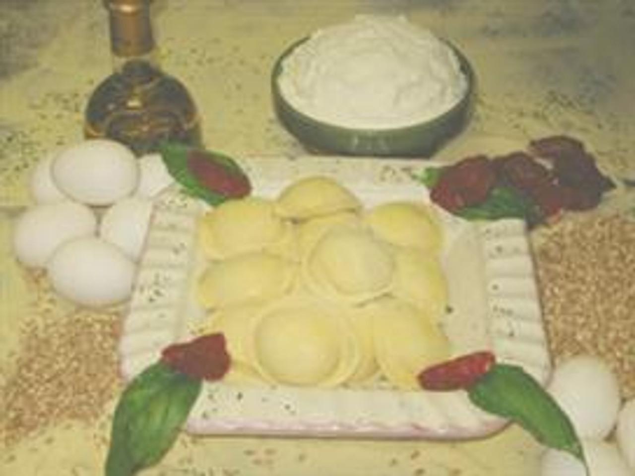 Lite Vegetable Ravioli (Large Round)