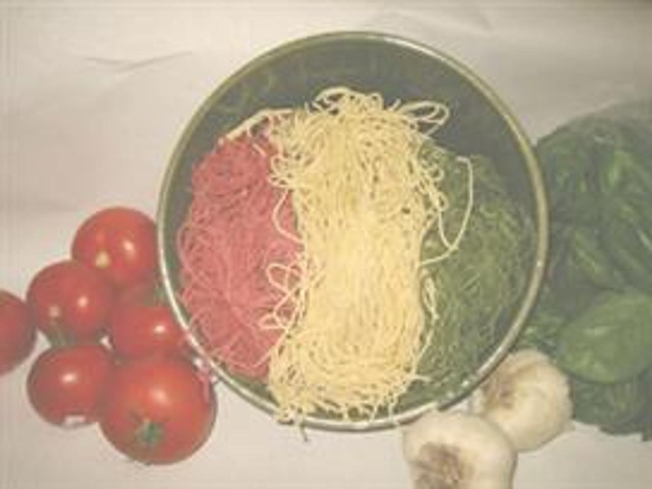 Tri-Color Capellini