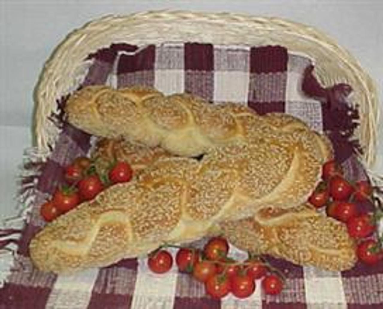 Pane di Casa Semolina Twist