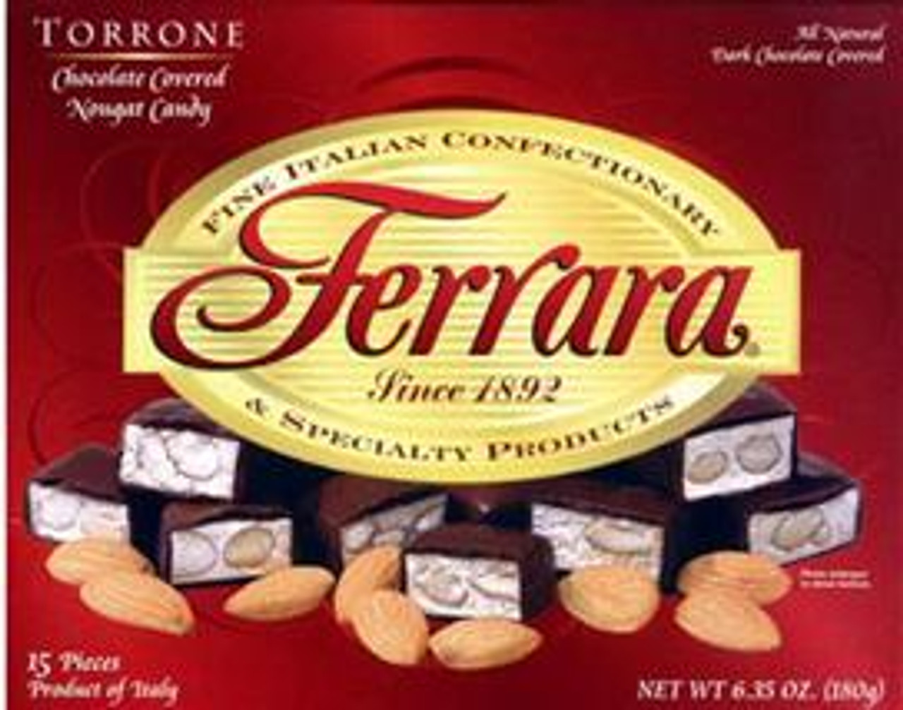 Ferrara Chocolate Covered Torrone