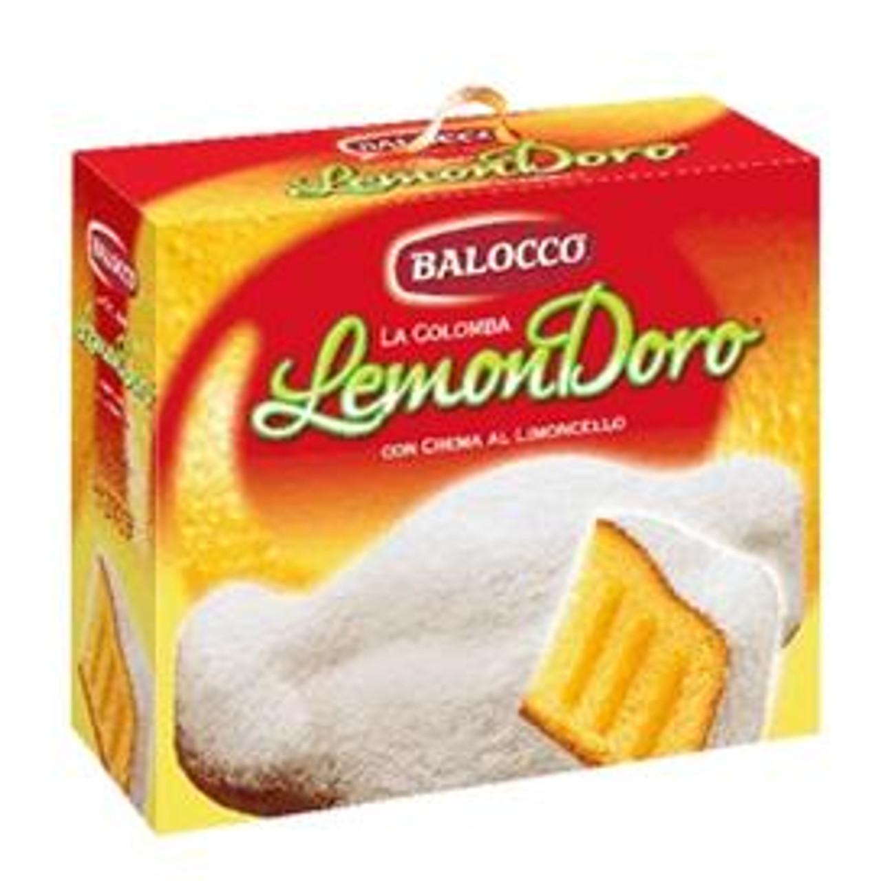 Balocco Colomba Lemondoro