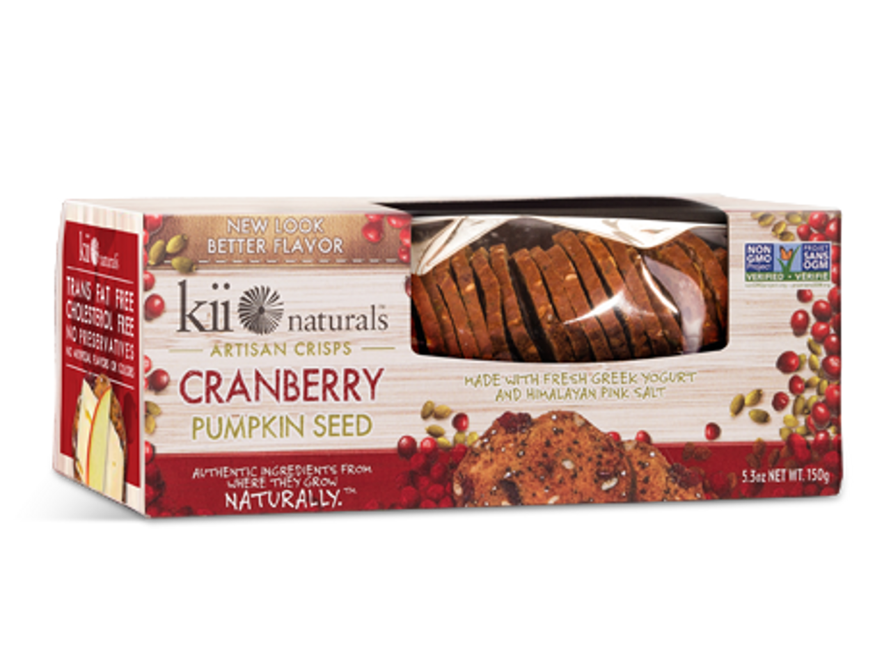 Kii Naturals Cranberry & Pumpkin Seed