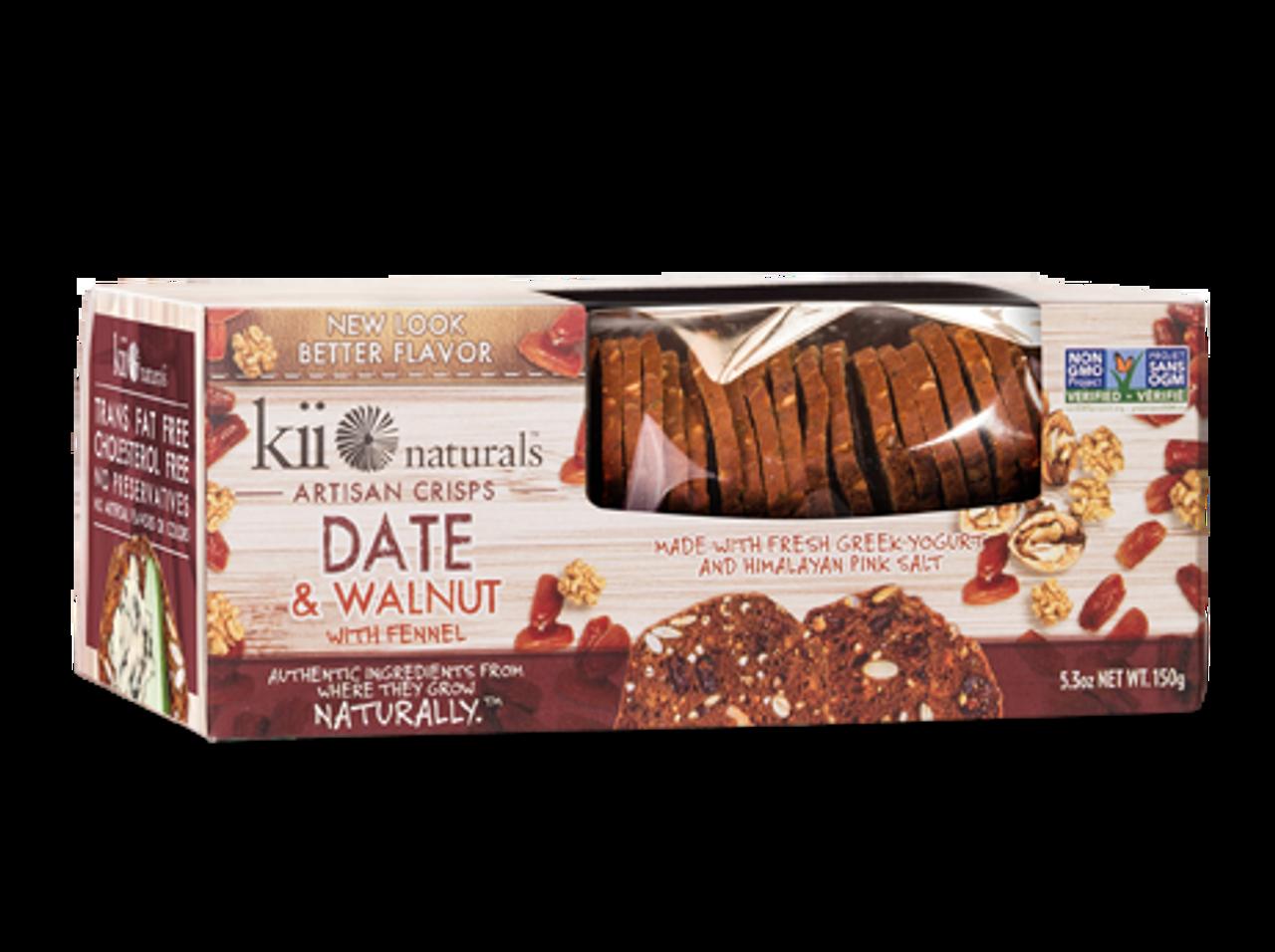 Kii Naturals Date & Walnut