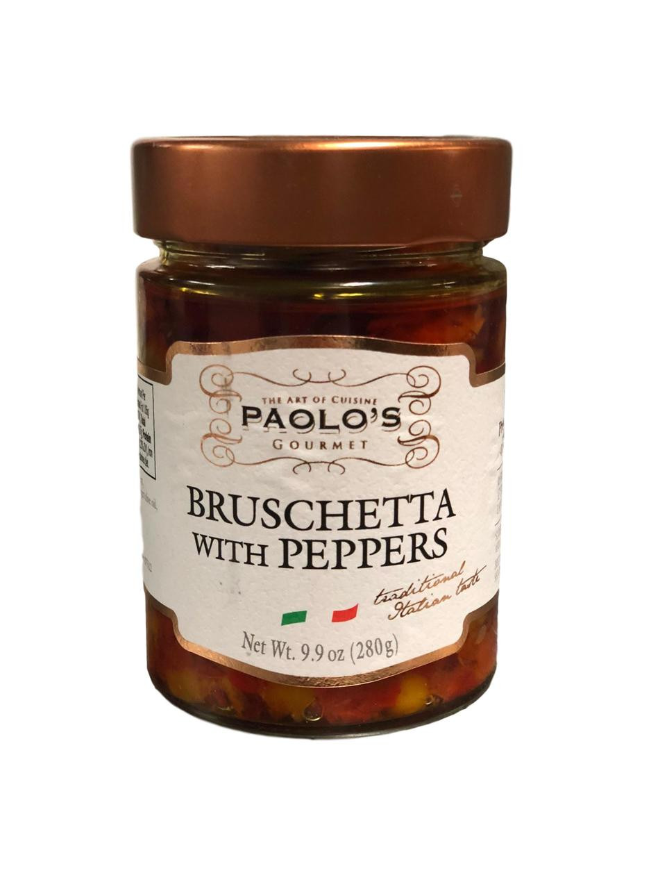Paolo's Gourmet Bruschetta with Peppers