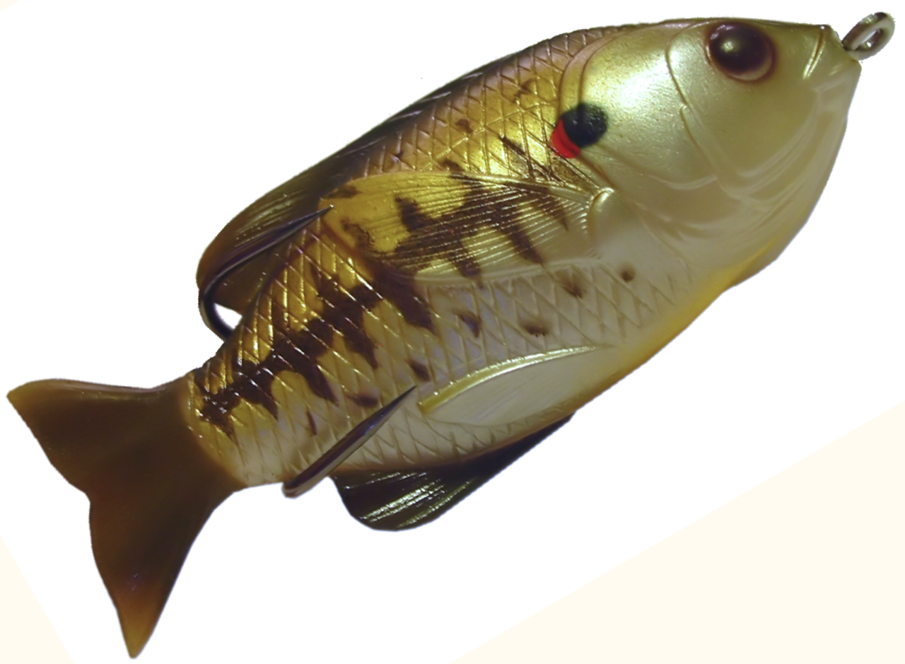 Jawbone hollow sunfish 3 baby bass vimage outdoors for Baby bass fish for sale