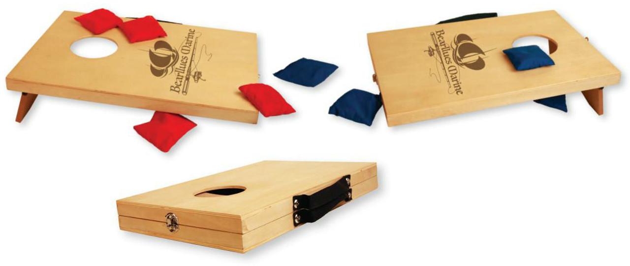 Custom Portable Mini-Cornhole Game