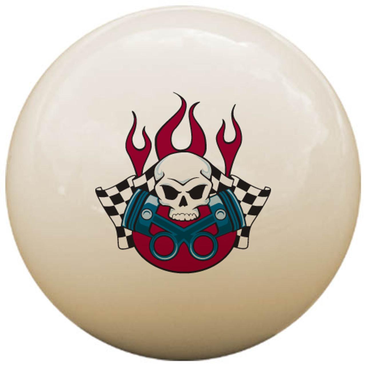 Custom Pool Cue Ball - Gearhead