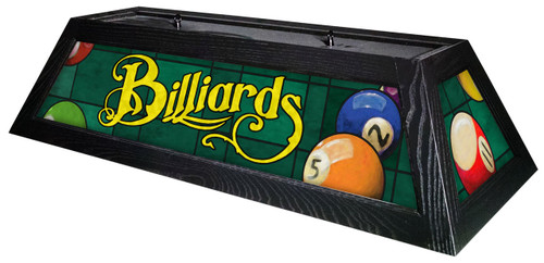 Billiards Green Table Light Black Frame