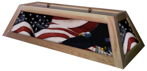Patriot Table Light Unstained Frame