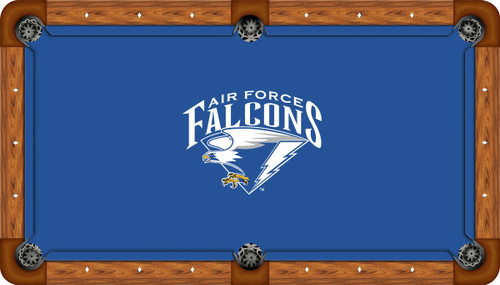 Air Force Falcons 8 foot Custom Pool Table Felt