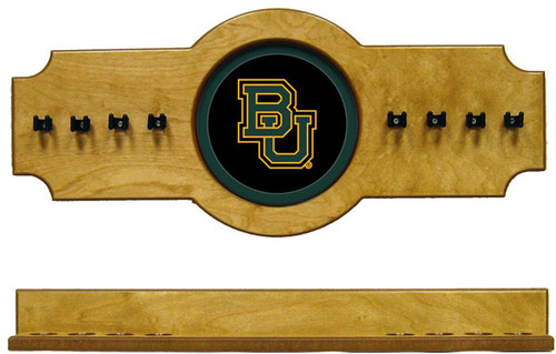 Baylor Bears 8 Cue Wall Rack