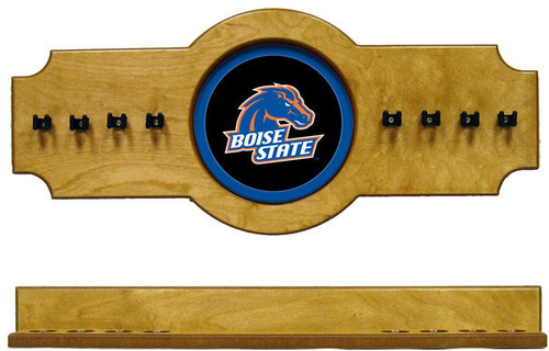 Boise State Broncos 8 Cue Wall Rack
