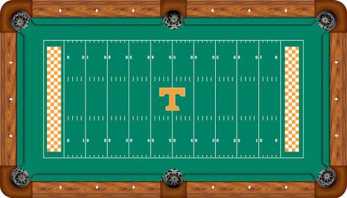 Tennessee Volunteers 7 Foot Custom Pool Table Felt
