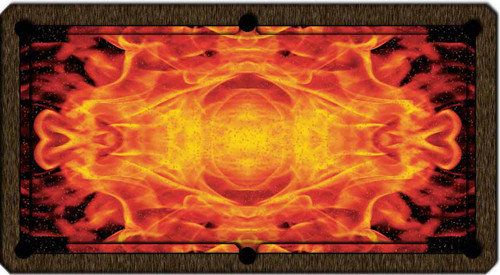 ArtScape Flame Pool Table Cloth