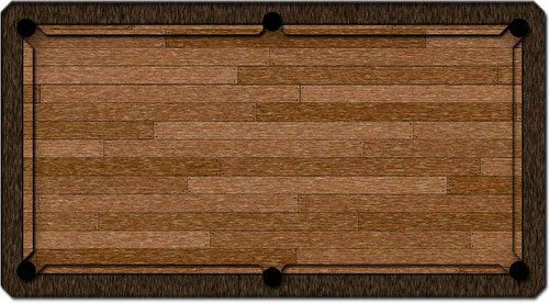 ArtScape Timber Pool Table Cloth