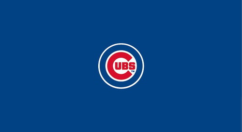 Chicago Cubs Pool Table Felt 9 foot table