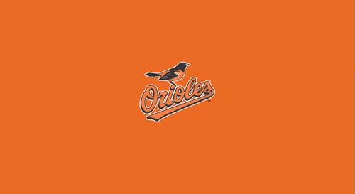 Baltimore Orioles Pool Table Felt 8 foot table