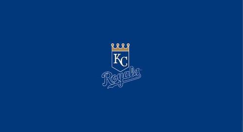 Kansas City Royals Pool Table Felt 8 foot table