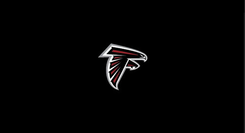 Atlanta Falcons Pool Table Felt for 8 foot table