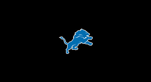 Detroit Lions Pool Table Felt for 9 foot table