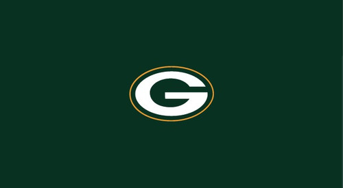 Green Bay Packers Pool Table Felt for 9 foot table
