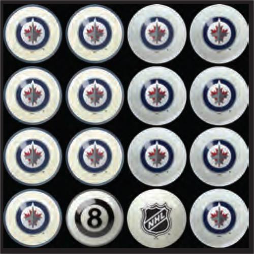 Winnipeg Jets Pool Balls