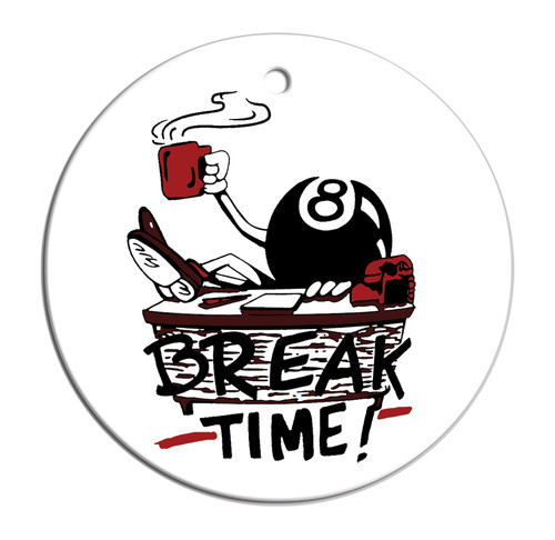 Christmas Ornament – Break Time