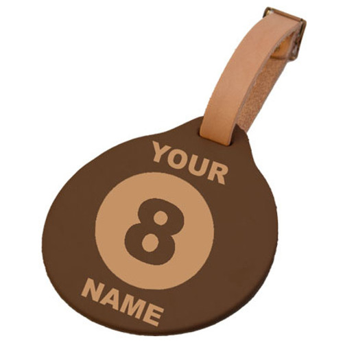 Custom 8-Ball Tag (Round)