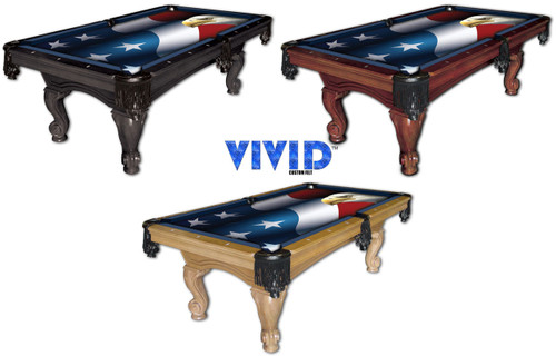 Patriot Pool Table: VIVID Patriot Eagle 7'/8' Pool Table Felt
