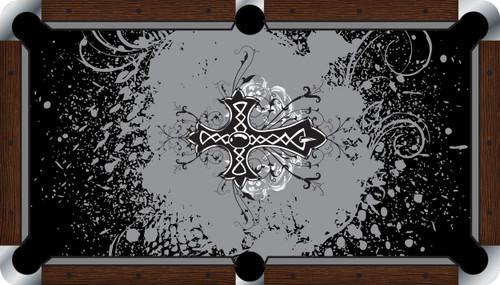 VIVID Cross 7'/8' Pool Table Felt