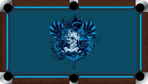 VIVID Dangerous 7'/8' Pool Table Felt