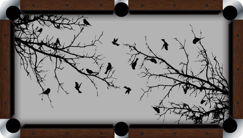 VIVID Birds of a Feather 7'/8' Pool Table Felt