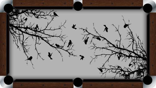VIVID Birds of a Feather 9' Pool Table Felt