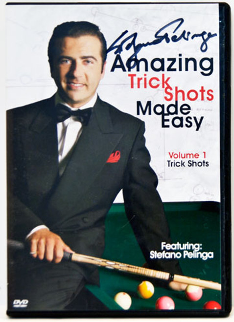 Amazing Trick Shots Made Easy - Autographed