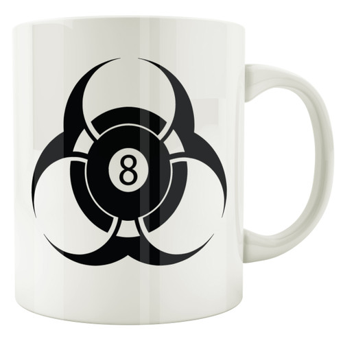 Biohazard 8-Ball Coffee Mug