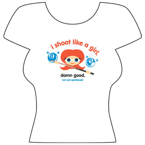 """Damn Good"" T-Shirt, White"