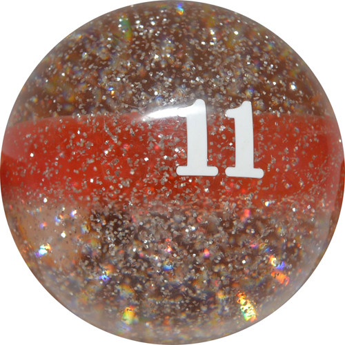 Sterling Designer Glittering Pool Balls - 11 Ball