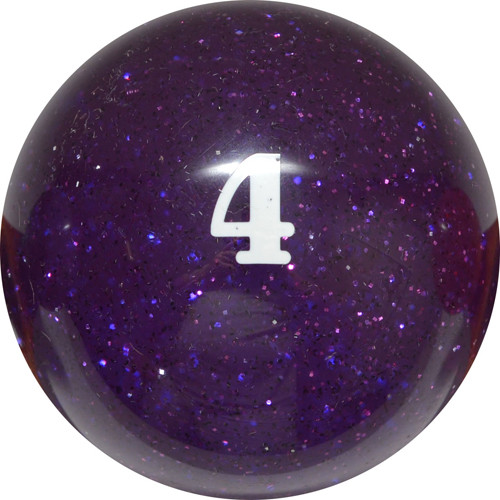 Sterling Designer Glittering Pool Balls Ð 4 Ball