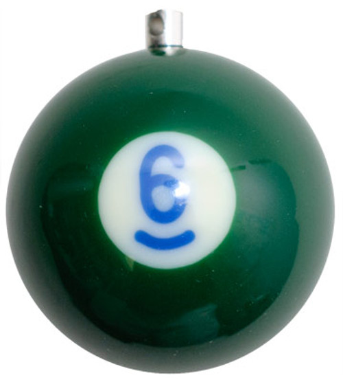 Billiard Ball Christmas Tree Ornaments - #6