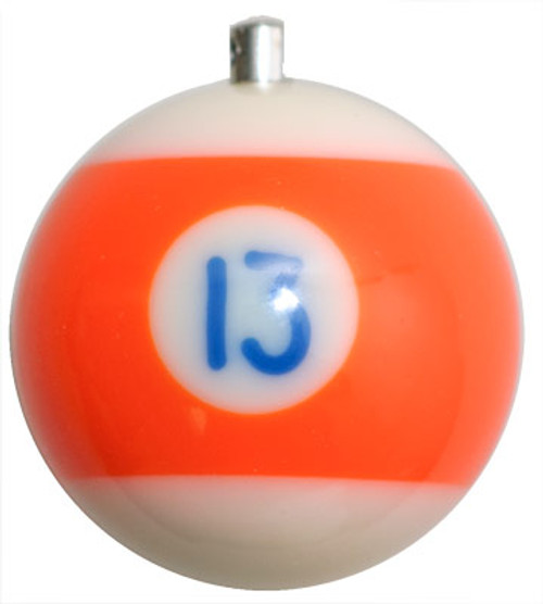 Billiard Ball Christmas Tree Ornaments - #13