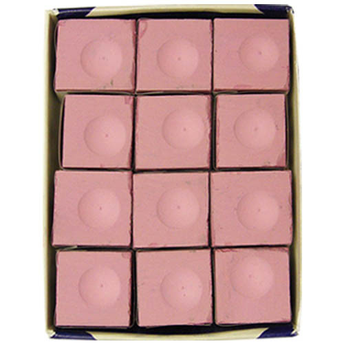 Silver Cup Chalk, Pink, 12-Piece Box