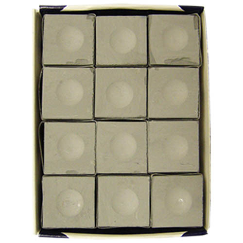 Silver Cup Chalk, Pewter, 12-Piece Box