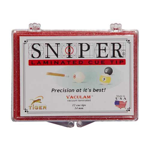 Tiger Sniper Tips, 14mm (Box of 12)