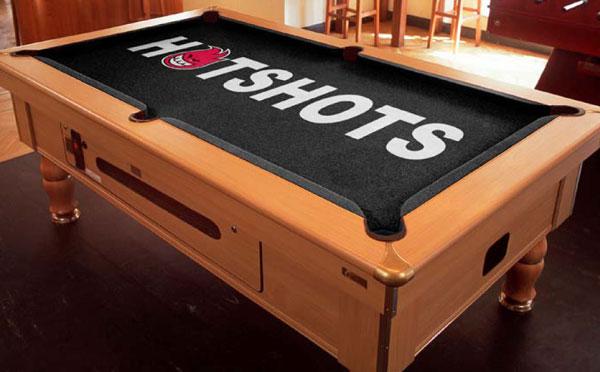 Genial Custom Pool Table Felt   Hotshots