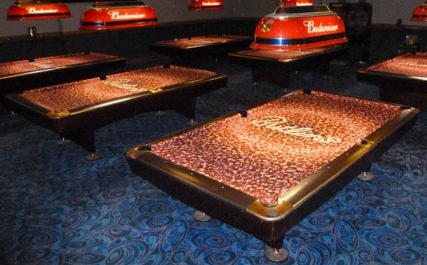 Custom Pool Table Felt Designs CueSightcom - Custom billiard table covers