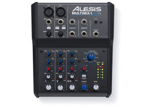 Alesis MULTIMIX4USBFXXUS 4-Channel Mixer with Effects & USB Audio Interface