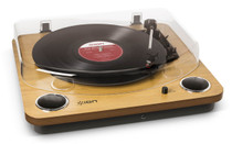 ION Conversion Turntable with Stereo Speakers